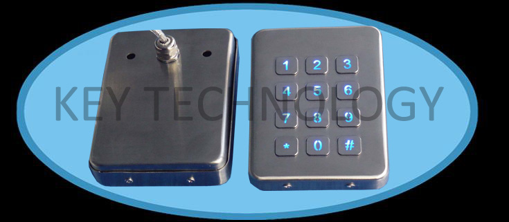 IP65 vandal proof Stainless industrial keypad