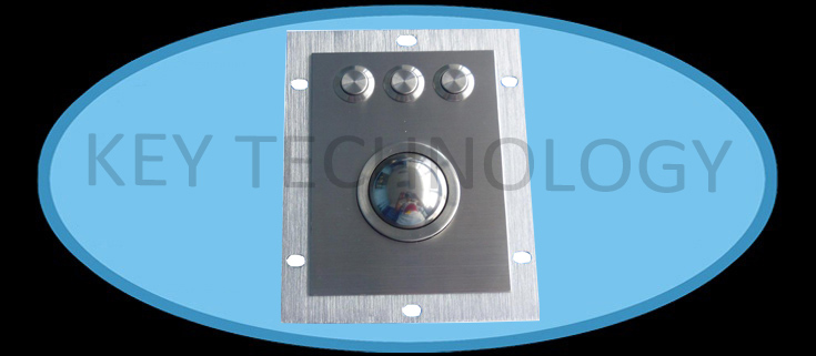 IP65vandal proof stainless steel optical trackbal