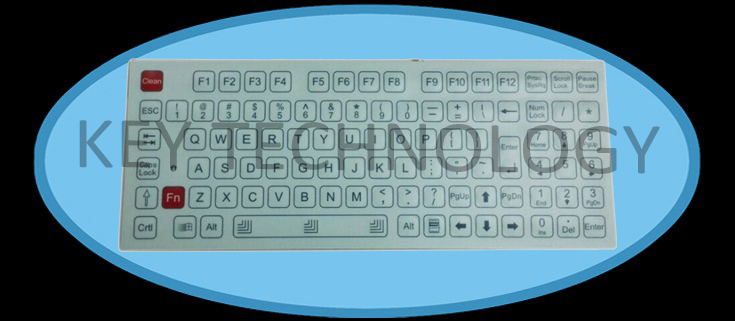 IP65 compact format industrial membrane keypad