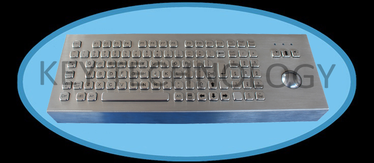 IP65 vandal proof stainless industrial keyboard