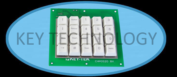 20 keys Industrial plastic keypad