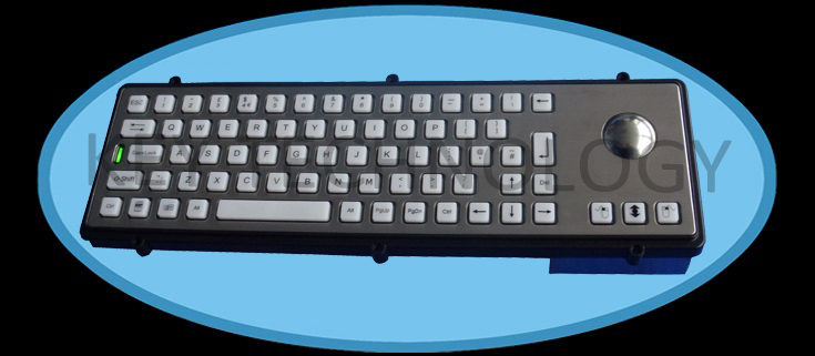 IP65 dynamic vandal proof industrial keyboard