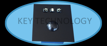 IP65 static Vandal proof Stainless Steel Industrial Trackball Mouse