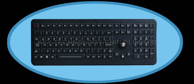 IP68 seaked & ruggedized industrial keyboard