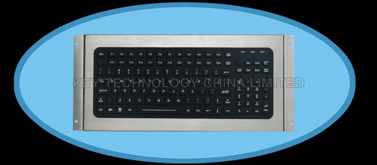 IP68 sealed & ruggedized silicone rubber keyboard