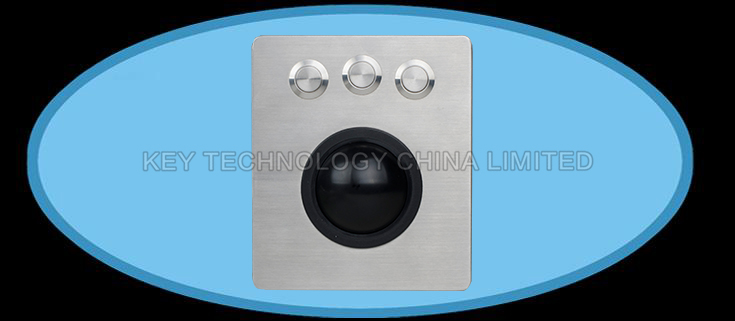 IP65 vandal proof stainless trackball