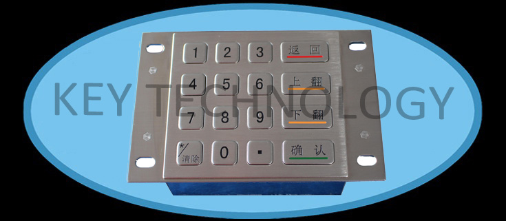 Industrial Metal Keypad