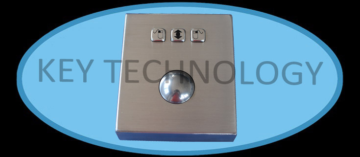 IP65 Vandal proof Stainless Steel Trackball