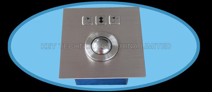 IP65 Vandal proof Stainless industrial Trackball