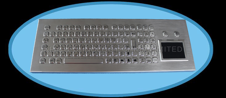 IP65 stainless steel desktop keyboard