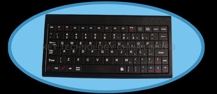 80 keys super slim  plastic keyboard