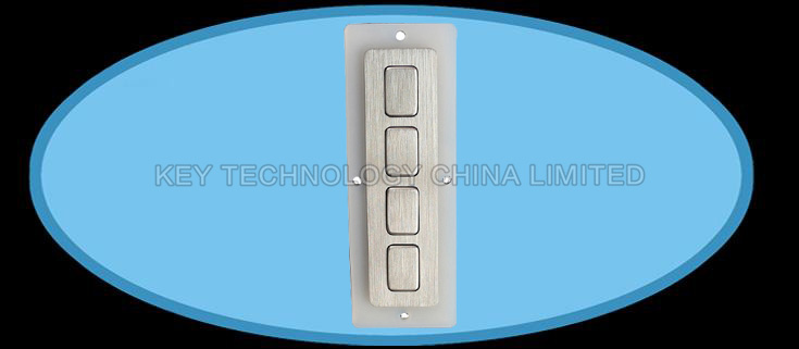 IP67 dynamic water proof industrial matrix function keypad